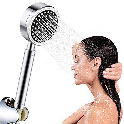 Preisvergleich Produktbild Duschkopf Handbrause,  Mopoin Duschkopf Dusche Set Filtration Handheld Brausekopf Aluminium Hochdruck Multifunktionsduschkopf Brause Massagewasser
