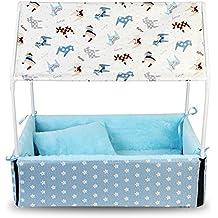 LEVB casa caseta jaula tienda Ideal para perro y gato de hasta 12 Kilos a Manita