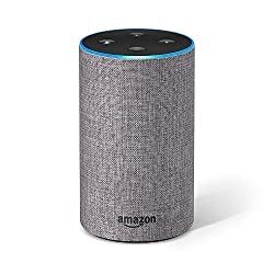All-new Amazon Echo (2nd Generation), Heather Grey Fabric