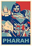 Instabuy Poster Overwatch - Pharah A3 (42x30 cm) Propaganda