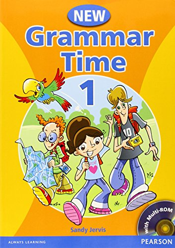 Grammar time. Student's book. Per la Scuola media. Con CD-ROM: Grammar Time 1 Student Book Pack New Edition por Sandy Jervis