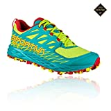 La Sportiva Damen Lycan Woman GTX Traillaufschuhe, Mehrfarbig (Apfelgrün/Smaragdgrün 000), 40,5 EU