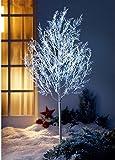 XL Led Baum Lichterkette Außenbeleuchtung Outdoor Gartenbeleuchtung 120 LED Lichterbaum Garten Veranda Balkon Leuchte Lichterzweige Kristalle Leuchtbaum Eiskristalle