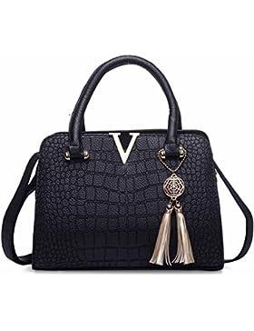 Mufly Damen Handtaschen Fashion Handtaschen für Frauen PU Leder Schulter Taschen Messenger Tote Taschen Umhängetasche