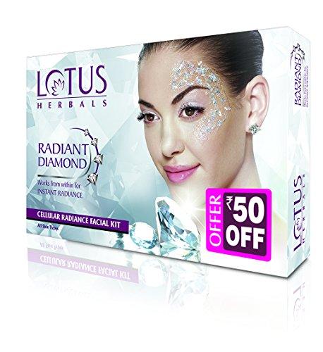 Lotus Herbals Radiant Diamond Facial Kit (37GM)