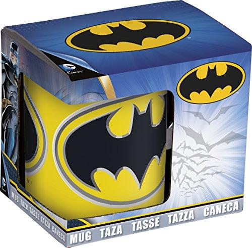 se in Geschenk box-batman, Keramik, weiß, 7,5x 8,7x 10cm (Keramik Box)