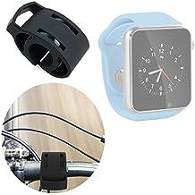 DURAGADGET Soporte Para Reloj AGPtek A1 | LaTEC | Pebble Classic | Time Round | Posma W1 | Pushman 1 | Zolimx U80 Para Manillar De Bicicletas
