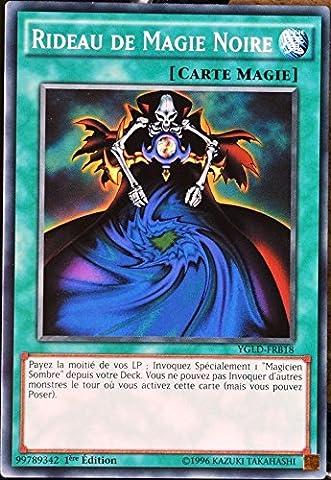 Rideau De Magie Noir - carte YU-GI-OH YGLD-FRB18 Rideau de Magie Noire