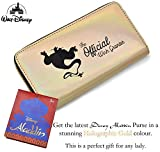Disney Aladdin Lamp Purse, Latest Aladdin Movie Gift | Disney Films Accessories, Gift for Women, Girls | Long Wallet 20cm - Will Fit Mobile Phone