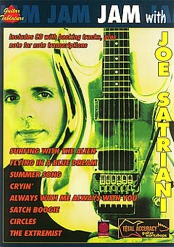Preisvergleich Produktbild Jam With Joe Satriani. Für Gitarrentabulatur(mit Akkordsymbolen)