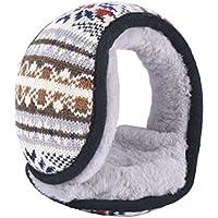 Unisex Faltbare Ohrenschützer Warme Strick Ohrwärmer Fleece Winter EarMuffs, A3 preisvergleich bei billige-tabletten.eu