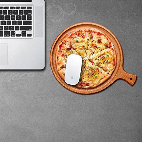 Bar-schaum-pad (Bluelover Maus Pad Aufkleber Mat Sticker Pag Wasserdicht Abnehmbare Desk Aufkleber Pizza Home Decor Geschenk)