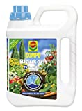 COMPO Blaukorn®, NovaTec®, flüssiger Unviversaldünger für alle Gartenkulturen, für eine verbesserte Qualität des Ernteguts 2,5 l