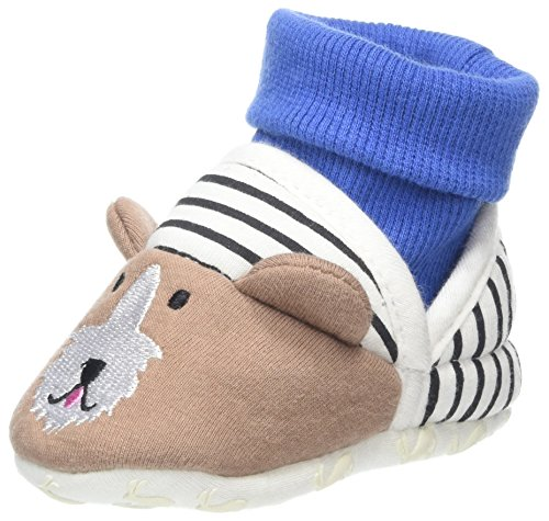 Boy Toddler Toms Schuhe (Joules Baby Jungen X_BABYNPRSLPB Hausschuhe, Blau (Dog), S)