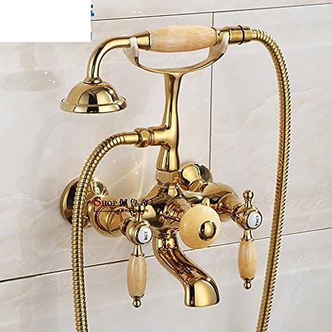 douche mural de style européen/robinets de baignoire de salle de bains/Antique douche baignoire autoportante
