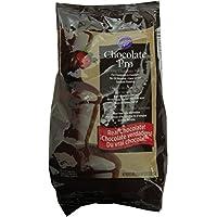 Wilton-Fontana di cioccolato e fonduta piastrine 907,18 g (2lb), colore: cioccolato