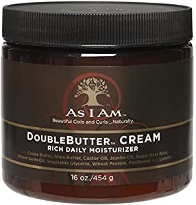 As I Am Double Butter Cream, 16 oz by I AM