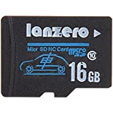 HITSAN INCORPORATION Lanzero 16GB Micro Sd Class10 TF Tachograph Memory Card For Car DVR Camera
