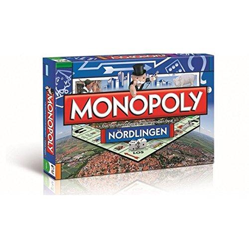 Winning Moves – 43621 – Monopoly Nördlingen Brettspiel, Gesellschaftsspiel