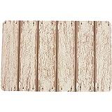 Villa d 'Este Home Tivoli 2413555 Juego de 6 manteles individuales, madera Blanco, 1 x 28 x 44 cm