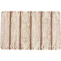 Villa d'Este Home Tivoli 2413555Juego de 6manteles individuales, madera Blanca, 1x 28x 44cm