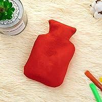 Myzixuan Red Hot Wasserbeutel waschbar Wasser Einspritzung Heißwasser Tasche Winter Geschenke für Männer und Frauen preisvergleich bei billige-tabletten.eu