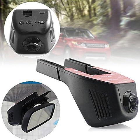1920* 1080WiFi Voiture DVR caméra enregistreur vidéo Appareil photo pour tableau de bord de voiture Dash