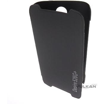 Vulkan Flip Cover Case for HTC Desire 526G Plus (Black)