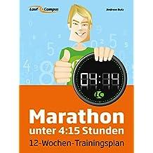 Marathon unter 4:15 Stunden