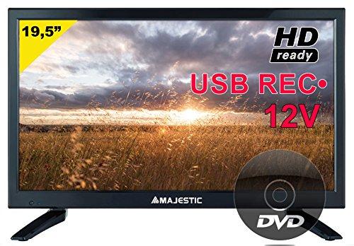 "Majestic dvx-2120 hd t2-s2 hd-ready led 19,5"" usb rec 12v cam ci+hd classe b"
