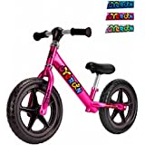 Oyerun Baby Fit Balance Bike - Kids Smart Adjustable Push Bikes (Plum)