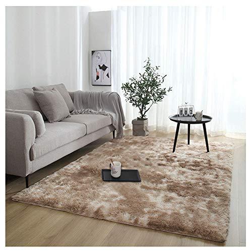 YAOTT Alfombras Modernas Minimalistas Suaves y esponjosas para el Dormitorio, Antideslizantes Alfombra...