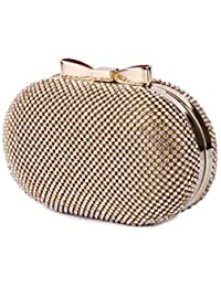 Kleio Designer Party Clutch With Sling For Girl/Women
