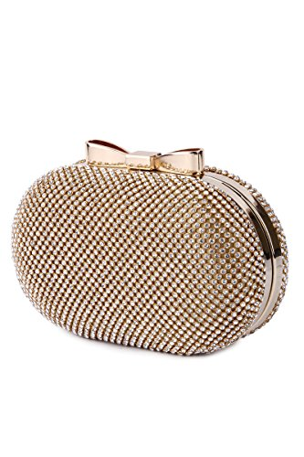 Kleio Designer Party Clutch With Sling For Girl/Wo...