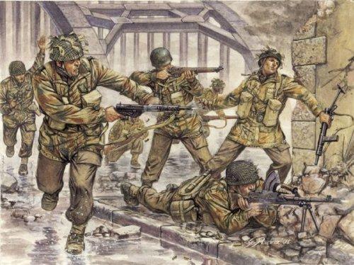 Italeri 6034 - wwii british paratroopers  scala 1:72