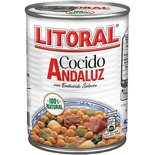 Litoral Cocido Andaluz con Embutido Selecto - 425 g