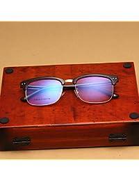 GCR Occhiali Da Sole Ombra Polarizzante Occhiali Tr90 Retrò Classico Mq Vetri Ottici Di Specchio Piano Chiodo , A