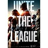 Justice League - JLA Official Poster 12x19 Inches Art Material Poster For Office, Schools Walls, Doors, Study Rooms, Bedrooms, Halls | Inspirational Motivational Quotes Signs-Sayings | Movies, Sports, Games, TV Series, Anime, Music | Matte Finish | High-Q