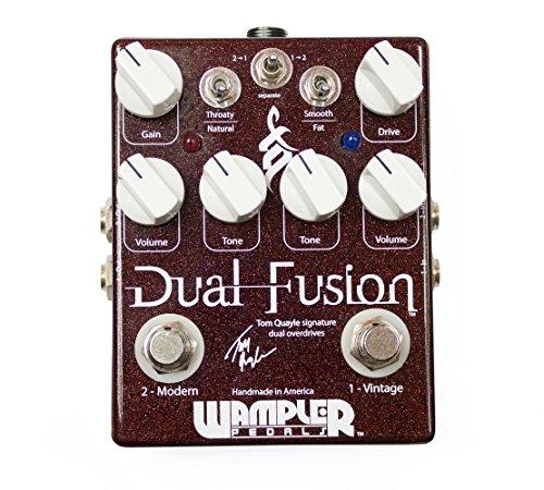 Wampler Dual Fusion - Multiefectos para guitarra el?ctrica
