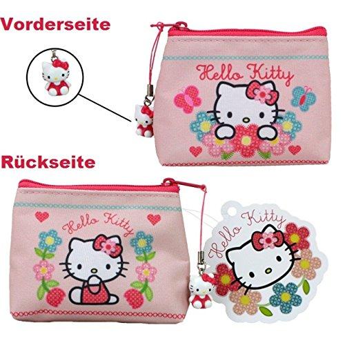 HELLO KITTY HOME SWEET HOME Geldbörse rosa Katze Kinder Portemonnaie Geldtasche (Hello Kitty Geldbörsen)