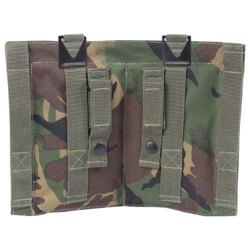 Utility de camuflaje del ejército británico Kombat fundas para accesorios de doble cinturón de piel de maletero de medios de transporte de New con el culete bolsa PLCE diseño de camuflaje