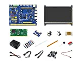 Waveshare Raspberry Pi Compute Module 3 Lite Development Kit Type B with Compute Module 3 IO Board,DS18B20,HDMI LCD and IR Remote Controller