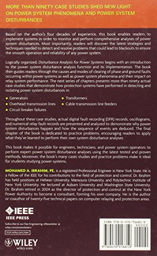 Disturbance Analysis for Power Systems (Wiley - IEEE)