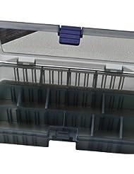 Fladen transparente (4A 12Secciones) Pesca Terminal Tackle caja de almacenamiento para puntas–Dimensiones 21,4x 11,8x 4,5cm [19–03312]