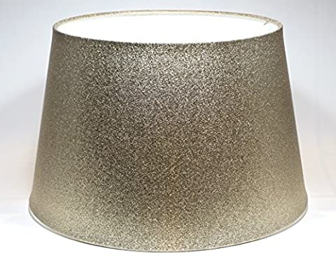 Large Gold Glitter Metallic Effect Ceiling Light Shade or Lamp Shade 13