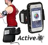 Navitech brassards sports MP3 Courir/ Cyclisme/ Jogging pour smart ou téléphones portables (Sony Xperia ZR/ Sony Xperia L/ Sony Xperia Sp/ Sony Xperia J/ Sony Xperia T)