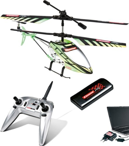 Carrera RC Helicopter Green Chopper - 4