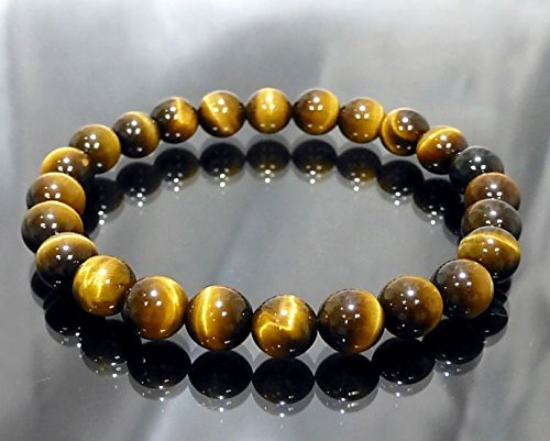 Aeora : Tiger eye -STONE FOR WILL POWER,8mm bead bracelet for daily...