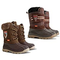 Demar Kids Infant Warm Winter Boots Woolen Fur Snow Winter Shoes BOY and Girl