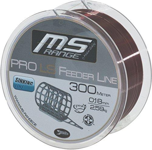 MS-RANGE - PRO LS ( low stretch) FEEDER Ø 0,28mm / 6,01kg / 300m von Michael Schlögl - Sänger - Sänger Schnur